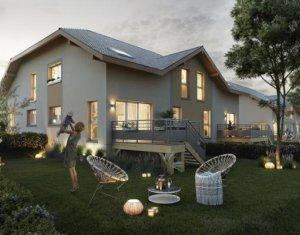 Achat / Vente programme immobilier neuf Cercier au coeur du bassin genevois (74350) - Réf. 5343