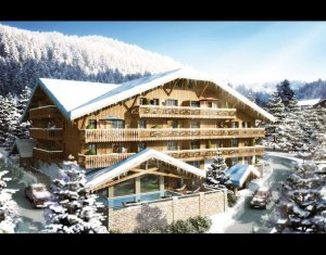 Achat / Vente programme immobilier neuf Châtel Domaine des portes du Soleil (74390) - Réf. 734