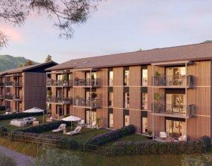 Achat / Vente programme immobilier neuf Châtillon sur cluses , à deux pas des stations de ski (74300) - Réf. 6351