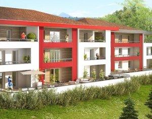 Achat / Vente programme immobilier neuf Contamine-sur-Arve ambiance nature proche du CHAL et des grands axes (74130) - Réf. 1113