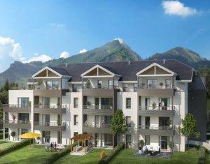 Achat / Vente programme immobilier neuf Divonne-les-Bains proche centre-ville (01220) - Réf. 3575