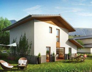 Achat / Vente programme immobilier neuf Domancy avec vue sur le Mont-Blanc (74700) - Réf. 1141