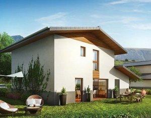 Achat / Vente programme immobilier neuf Domancy villas mitoyennes au cœur du village (74700) - Réf. 1493