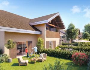 Achat / Vente programme immobilier neuf Doussard au sud du Lac d'Annecy (74210) - Réf. 5176