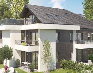 Achat / Vente programme immobilier neuf Douvaine proche lac Léman (74140) - Réf. 5342