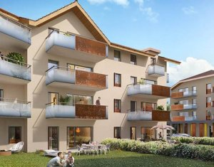 Achat / Vente programme immobilier neuf Faverges Seythenex proche lac d'Annecy (74210) - Réf. 2267