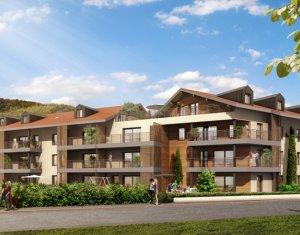 Achat / Vente programme immobilier neuf Fillinges proche Genève (74250) - Réf. 893