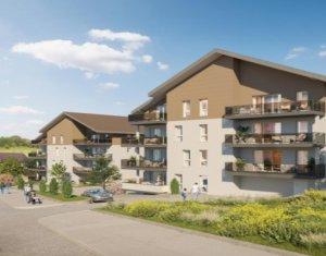 Achat / Vente programme immobilier neuf Frangy à mi-chemin entre Annecy et Genève (74270) - Réf. 5441