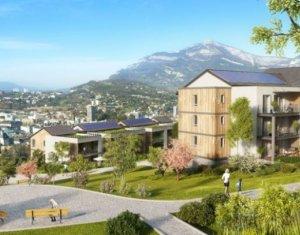 Achat / Vente programme immobilier neuf Jacob-Bellecombette quartier Chataigneraies TVA réduite (73000) - Réf. 100