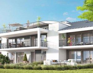 Achat / Vente programme immobilier neuf Messery avec vue sur le lac Léman (74140) - Réf. 1760