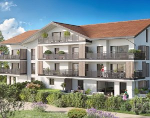 Achat / Vente programme immobilier neuf Metz-Tessy proche Grand Epagny (74330) - Réf. 5471