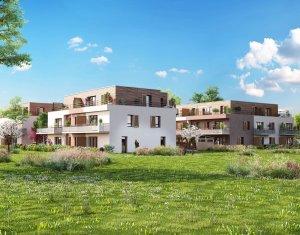 Achat / Vente programme immobilier neuf Ornex proche Lac Leman (01210) - Réf. 140