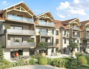 Achat / Vente programme immobilier neuf Poisy proches grands axes et panorama montagnes (74330) - Réf. 889