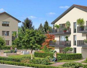 Achat / Vente programme immobilier neuf PREVESSIN MOENS proche parc du chateau (01280) - Réf. 1560