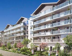 Achat / Vente programme immobilier neuf Saint-Genis-Pouilly centre-ville (01630) - Réf. 146