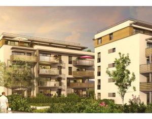 Achat / Vente programme immobilier neuf Saint-Genis-Pouilly proche CERN et commodités (01630) - Réf. 726