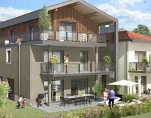 Achat / Vente programme immobilier neuf Saint-Julien-en-Genevois résidence de charme aux portes de la Suisse (74160) - Réf. 925