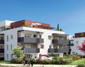 Achat / Vente programme immobilier neuf Saint-Julien-en-Genevois vue sur le hameau de Cervonnex (74160) - Réf. 1351