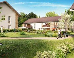 Achat / Vente programme immobilier neuf Saint-Martin-Bellevue à 11 km d'Annecy (74370) - Réf. 1519