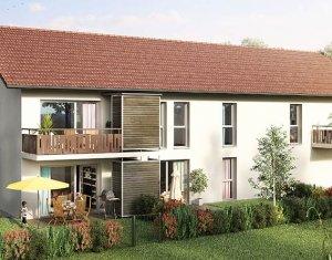 Achat / Vente programme immobilier neuf Saint-Martin-Bellevue proche d'Annecy (74370) - Réf. 1811
