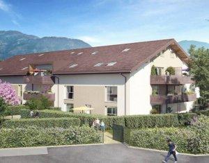 Achat / Vente programme immobilier neuf Saint-Pierre-en-Faucigny proche gare (74800) - Réf. 5914