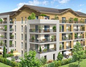 Achat / Vente programme immobilier neuf Saint-Pierre-en-Faucigny proche Genève (74800) - Réf. 934