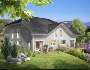 Achat / Vente programme immobilier neuf Sillingy proche centre commercial Grand Epagny (74330) - Réf. 1395