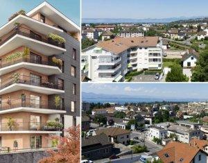 Achat / Vente programme immobilier neuf Thonon-les-Bains proche lac Léman (74200) - Réf. 1775