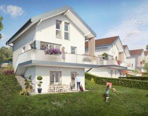 Achat / Vente programme immobilier neuf Thorens-Glières proche mairie (74570) - Réf. 3741