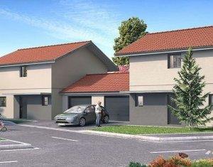 Achat / Vente programme immobilier neuf Vulbens villas mitoyennes au cœur du village (74520) - Réf. 1136