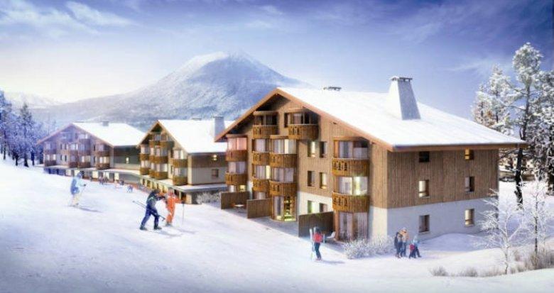 Achat / Vente programme immobilier neuf Abondance, proche des pistes de ski (74360) - Réf. 5828