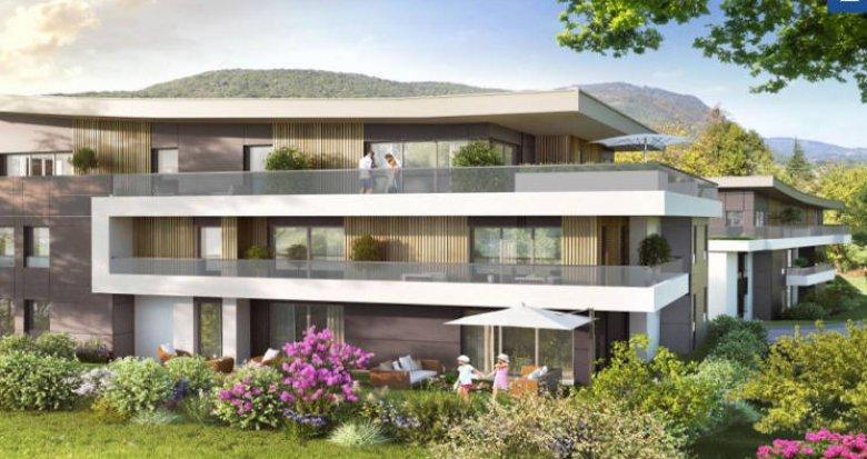 Achat / Vente programme immobilier neuf Aix-les-bains au cœur du secteur Le Cluset (73100) - Réf. 4386