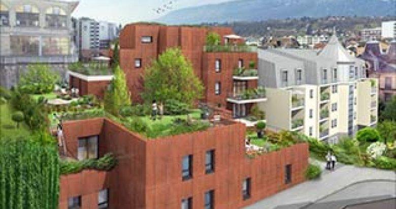 Achat / Vente programme immobilier neuf Aix-les-Bains coeur de ville (73100) - Réf. 2964