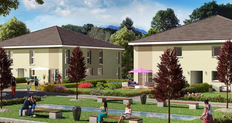 Achat / Vente programme immobilier neuf Alby-sur-Chéran proche commodités et grands axes (74540) - Réf. 284