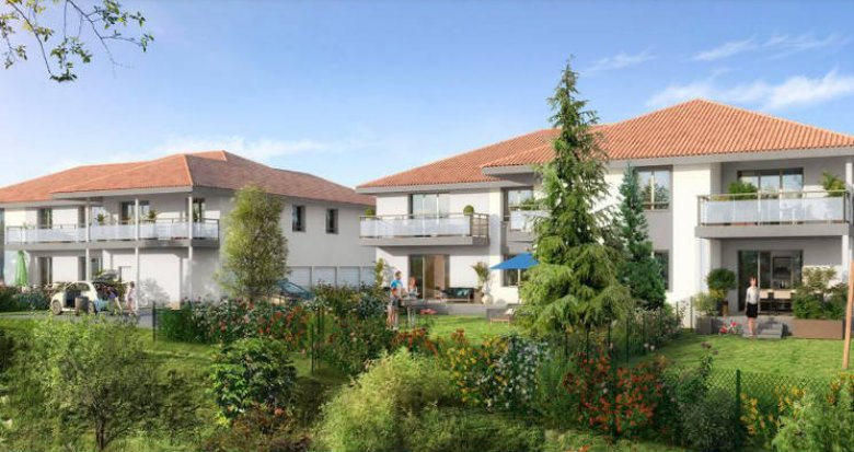 Achat / Vente programme immobilier neuf Amancy proche commerces et écoles (74800) - Réf. 4417