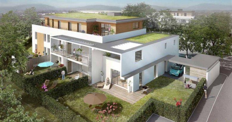 Achat / Vente programme immobilier neuf Annecy bordé par le lac (74000) - Réf. 2843
