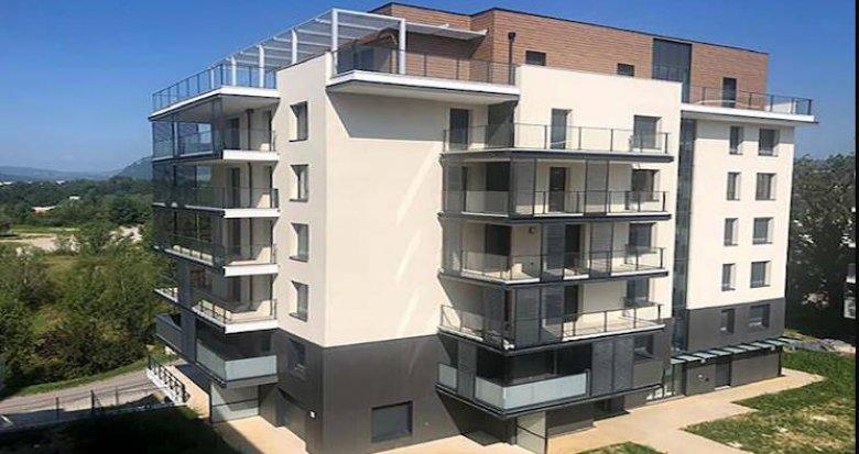 Achat / Vente programme immobilier neuf Annecy-le-Vieux en plein centre-ville (74940) - Réf. 4391