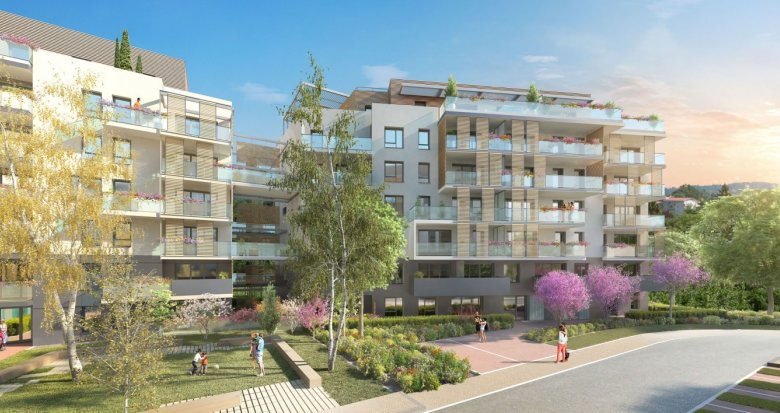 Achat / Vente programme immobilier neuf Annecy-le-Vieux proche des commerces (74940) - Réf. 271