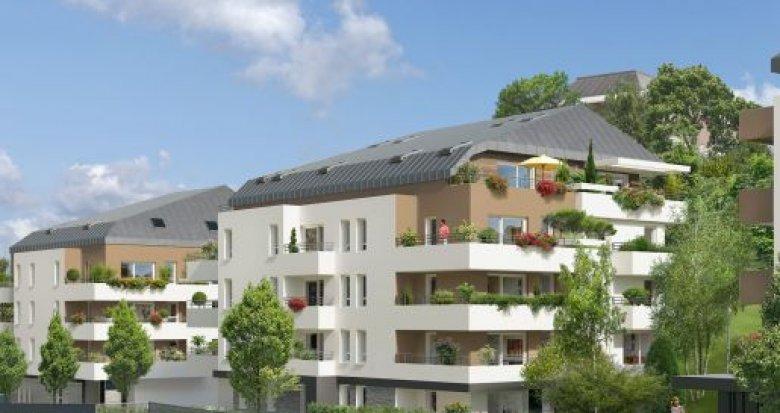 Achat / Vente programme immobilier neuf Annecy proche centre-ville et Lac (74000) - Réf. 173