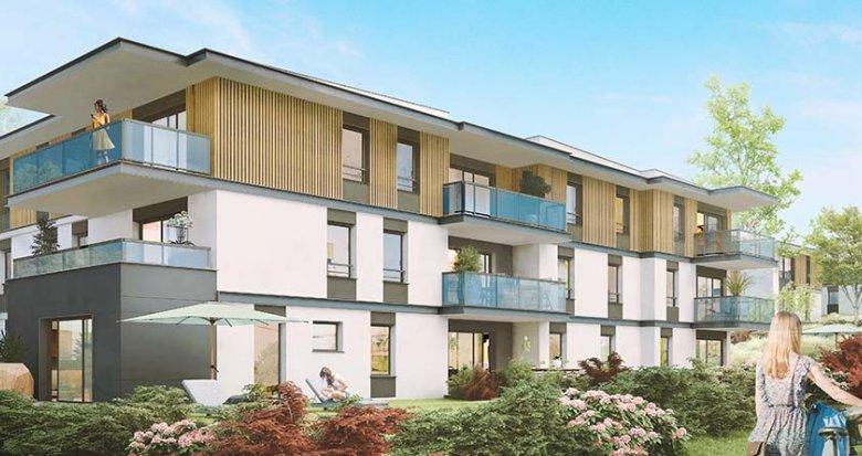 Achat / Vente programme immobilier neuf Anthy-sur-Léman proche lac Léman (74200) - Réf. 2814