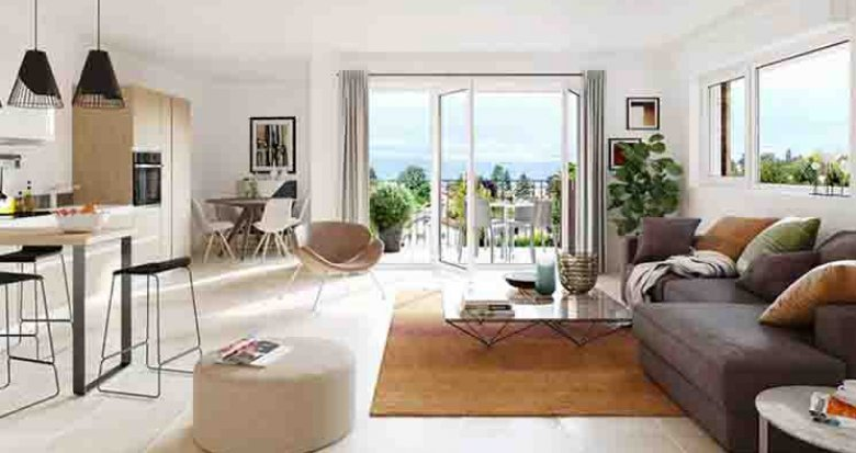 Achat / Vente programme immobilier neuf Anthy-sur-Léman proche plage de Séchex (74200) - Réf. 2679