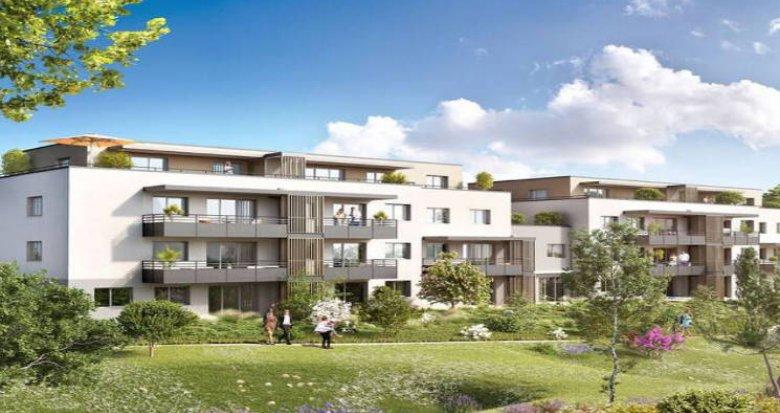 Achat / Vente programme immobilier neuf Ayse à 250m de la gare Léman Express (74130) - Réf. 5375