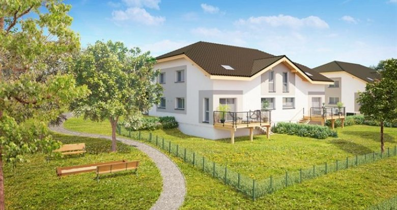 Achat / Vente programme immobilier neuf Ballaison vue sur lac Léman (74140) - Réf. 153