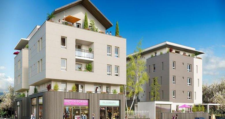 Achat / Vente programme immobilier neuf Barberaz proche Mairie (73000) - Réf. 1895