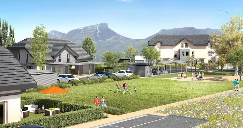 Achat / Vente programme immobilier neuf Barby Sud (73230) - Réf. 646