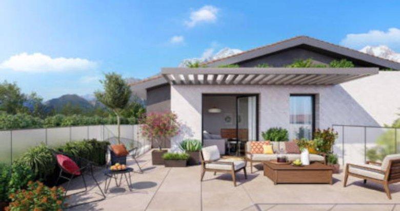 Achat / Vente programme immobilier neuf Cessy au coeur d'un parc paysager (01170) - Réf. 5703