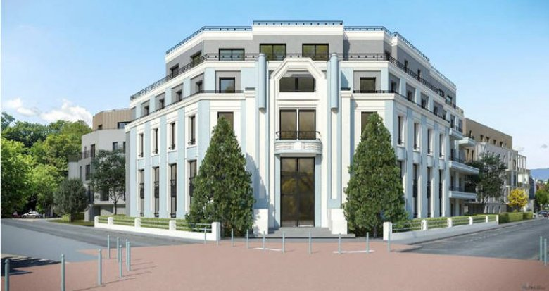 Achat / Vente programme immobilier neuf Chambéry quartier Faubourg Maché (73000) - Réf. 4972