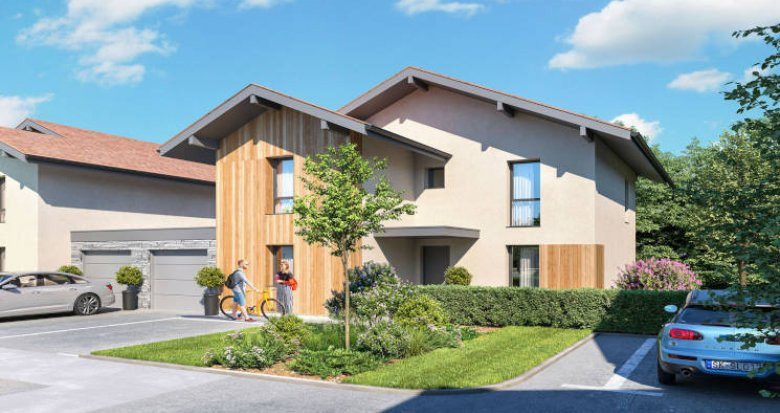 Achat / Vente programme immobilier neuf Chens-sur-Léman à 4min à pied du centre-bourg (74140) - Réf. 5709