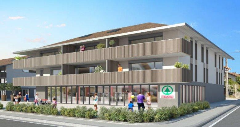Achat / Vente programme immobilier neuf Chens-sur-Léman proche centre et lac (74140) - Réf. 4519