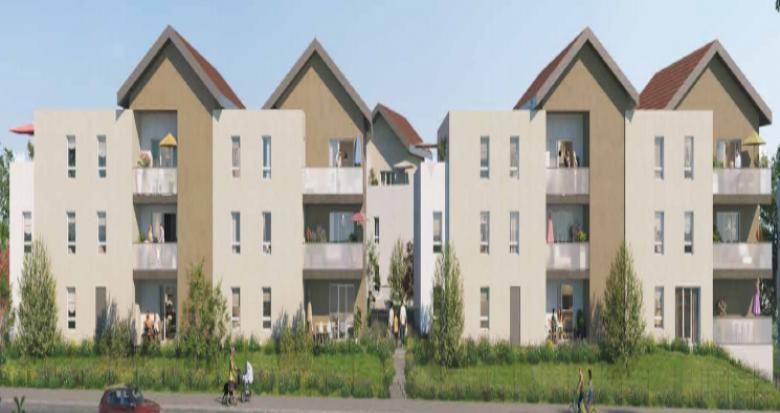 Achat / Vente programme immobilier neuf Cluses proche commerces (74300) - Réf. 5091